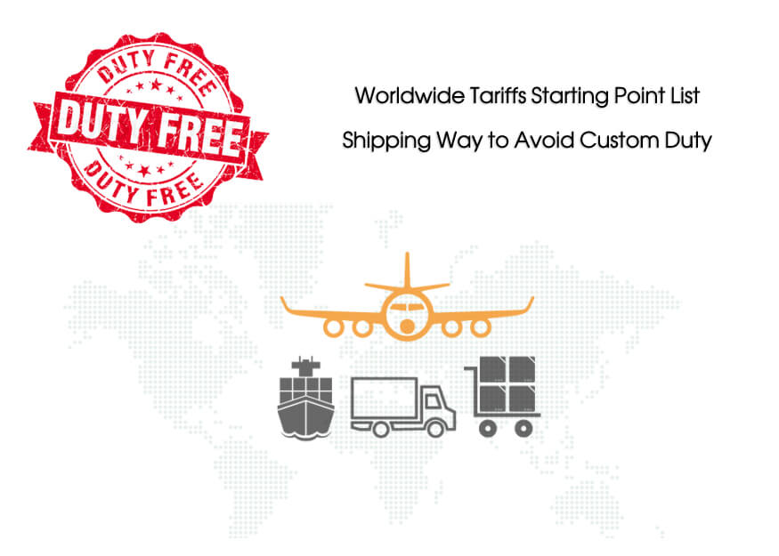 Worldwide Import Tariffs Starting Point List