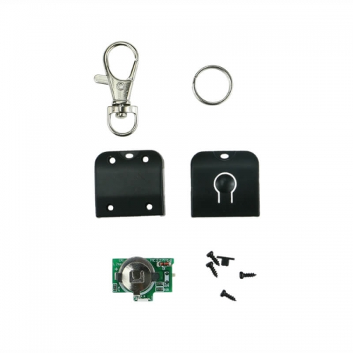 RGB Lights Glow LED Key Chain Flashing Fading Light TDL-K