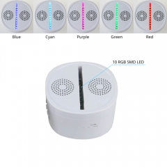 LED Lamp Base RGB Lights Bluetooth Speaker TDL-BS
