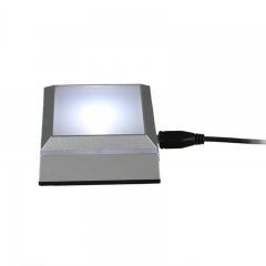 Square Mini LED Lamp Base for Crystal LB02