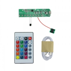 RGB Lights LED Board Touch Control IR Remote USB Powered PCB-07